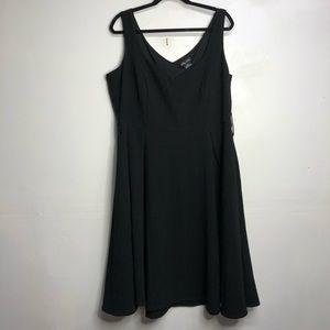 City chic plus size Black skater dress size 16